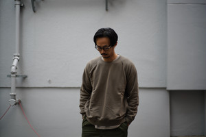 CURLY / FROSTED CREW SWEAT