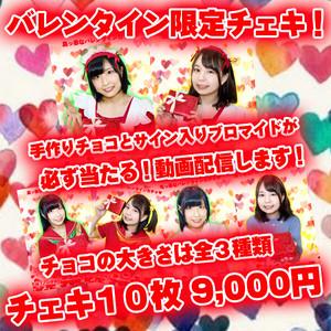 【2月16日まで限定販売】バレンタイン限定チェキ10枚(ガチャ付)