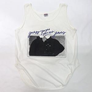 90's GUESS PRINT TANK TOP (90年代 ゲス プリントタンク)