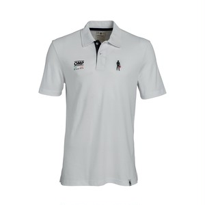 RS/PL/0003B/020 OMP & Racing Spirit ICON POLO White