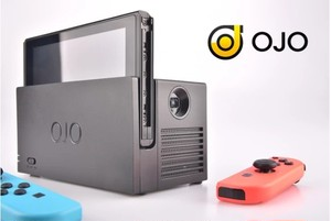 Nintendo Switch用一体型プロジェクター