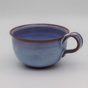 紫スープカップ