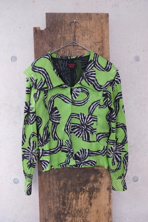 green planet blouse.