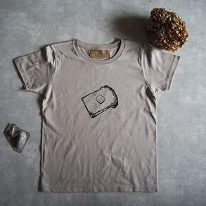 背伸びTシャツ グレー 【レディース】 S、M