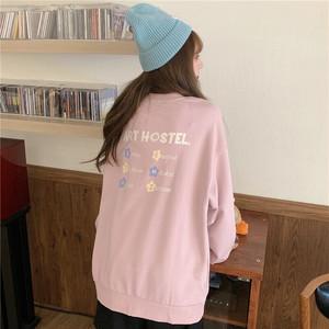 〈カフェシリーズ〉お花のヴィンテージセーター【flower vintage sweater】