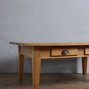 Coffee Table / コーヒーテーブル 〈センターテーブル・サイドテーブル・ダイニングテーブル・アンティーク・ヴィンテージ〉112332