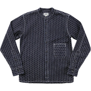 WORK SHIRTS  Stripe Denim  ~ワークシャツ ストライプ デニム~