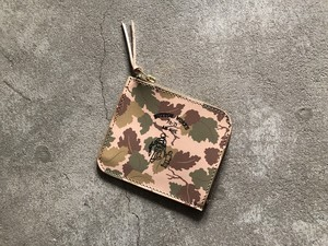 Button Works ボタンワークス Camouflage Wallet-Mitchell
