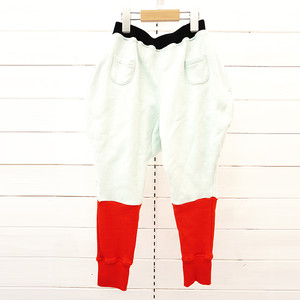 2TONE SWEAT PANTS / WOMEN