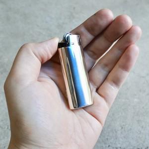 Bic mini Lighter Case /Silver