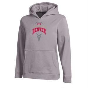 【UNDER ARMOUR】 NCAA DIV.1 デンバー大学|ラクロスウウェットパーカー|コールドギア