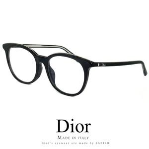 Dior レディース メガネ montaigne41f vsw 眼鏡 アジアンフィット ディオール Christian Dior クリスチャンディオール ボストン型 丸眼鏡 丸メガネ