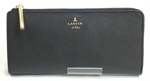 「LANVIN en Bleu」リュクサンブールシリーズ L字型長財布