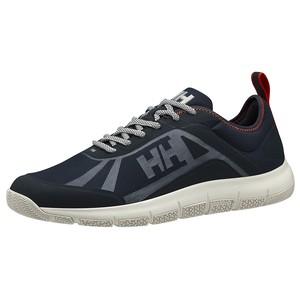 Helly Hansen Burghee Foil Deck Shoe(デッキシューズ) [8uk / Navy] #11578