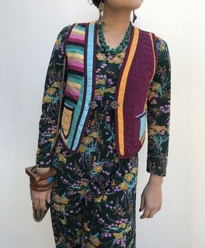 Jeanne Marc quilting vest ( ジェーン マーク キルティング ベスト )
