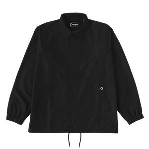 3LAYER COACH JACKET / BLACK