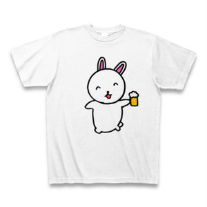 うさぎのぴょんぴょんのTシャツ