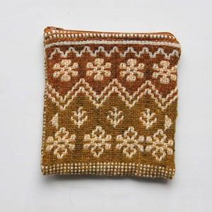 ポーチ ヤノフ村の織物 (sa-2496)