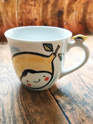 波佐見焼 檸檬ちゃん  のりマグカップ