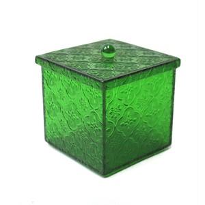 フローラガラスボックス グリーン (SA154)