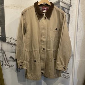 corduroy collar hunting jacket