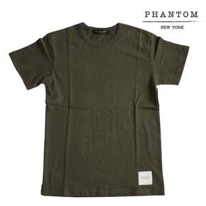 PHANTOM NYC / Safety T-shirt Olive (ファントム ニューヨーク セーフティー Tシャツ オリーブ)