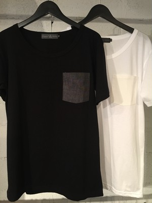 Mixture Pocket Tee (50% OFF!!)