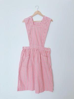 mother apron stripe