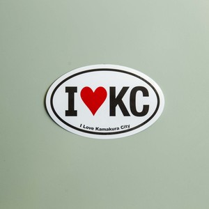 I ♡ KC sticker