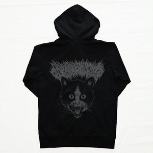 Putrid Cat Zip-up Hoodie