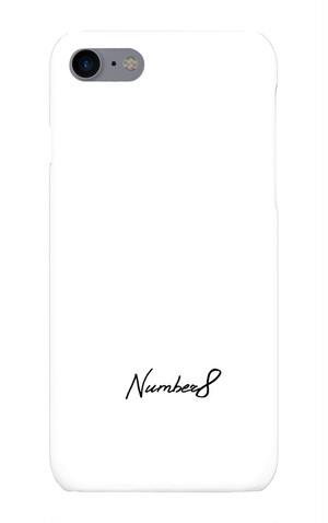 Number8(ナンバーエイト)ロゴiPhoneケース