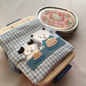 保冷剤カバー:パンケーキでおやつタイム