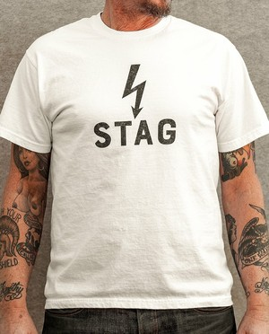 Stag - BLITZ Tee *One of a Kind*