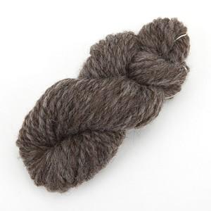 薄茶(ぽわぽこ)ナチュラルコリデール ゲージ用糸サンプル (poko_cr2)手紡ぎ毛糸オーダー