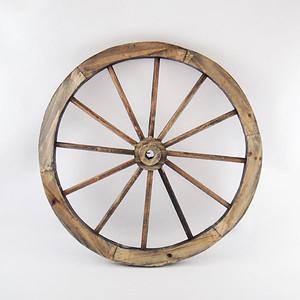 ガーデンウィール(車輪)ブラウン Sサイズ 直径30cm