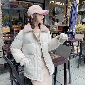 【アウター】秋冬新品オススメスエードpoloネック暖かい4色ダウンコート