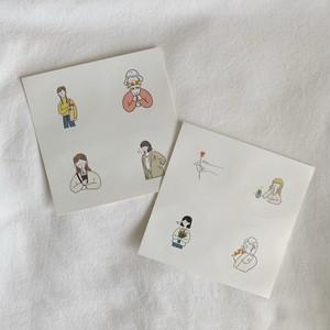 slow-life × ggotgill sticker set<A>