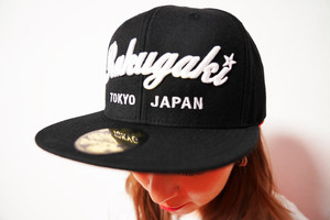 "2020 ""Rakugaki TOKYO JAPAN"" Logo Snap Back Cap Black"