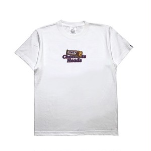CHOCOLATE CIRCLE LOGO TEE /  WHITE