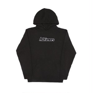 ALLTIMERS BROADWAY HOODY BLACK L オールタイマーズ パーカー