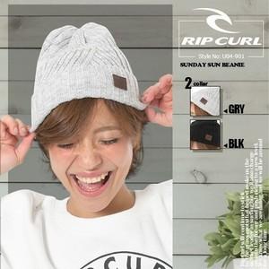 リップカール ビーニー オリジナル レディース ニット帽 人気 ブランド おしゃれ 通販 RIP CURL U04-901