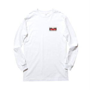 WHIMSY - FEET GAME L/S TEE (White)