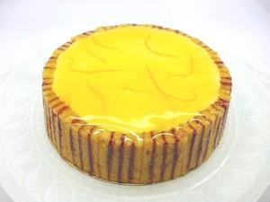 15㎝ 月替わりホールケーキ・6月「アカピュルコ」鮮やかなフランボワーズと爽やかなオレンジのケーキ