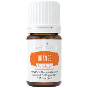 オレンジ ヴァイタリティ/ 気持ちを元気にし幸福感をもたす【食品添加物】