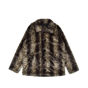 EXAMPLE x SCHOTT FUR JACKET / LEOPARD