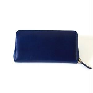 ROUND ZIP WALLET ラウンドファスナー財布 <ネイビー>