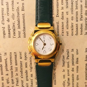 YSL leather belt watch