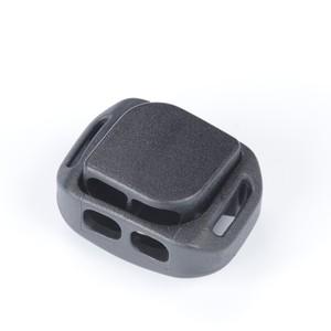 押しやすいBOX型コードロック 3㎜径2本通し Nifco CL38A 黒 2個入り