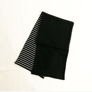MIX FLEECE MUFFLER(BLACK/3)