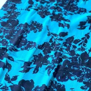 北欧デザイン コットンダブルガーゼカットクロス(約55x50cm)| stella blue